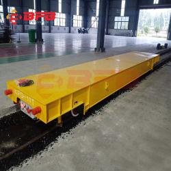 50 la tonne et 100t des Chariots de transfert avec une faible tension du système d'alimentation de rampe