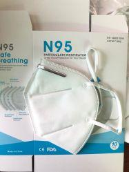 Kn95 anti mascherina di polvere della mascherina N95 che respira la maschera di protezione a gettare N95 approvato in riutilizzabile a gettare veloce di riserva di consegna Ffp2