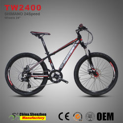 Novo Design 24polegadas 24 Ligas de alumínio Velocidade Mountain Bike