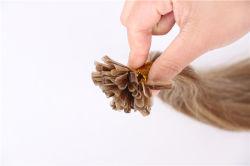 Commerce de gros cheveux humains Double appelée cuticule vierge européenne Remy U Astuce extention
