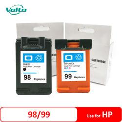 Compatible HP C9364W 98 99 C9368W Cartriddge de tinta para HP Photosmart 8450 8150 2710 y 2610 Impresoras Impresora HP Officejet 7410 7310 y 6210 Impresoras