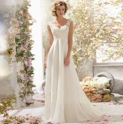 新しい花嫁エントリレースの軽くて柔らかいウェディングドレス
