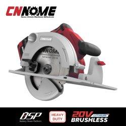Cirkelzaag van de Hulpmiddelen van de macht de Op zwaar werk berekende Draadloze 20V Brushless