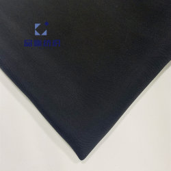 Seta viscosa nera del tessuto di Ym19174 Cupro come il vestito delle donne della tessile