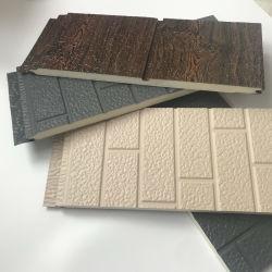 Espuma de PU 3D isolamento decorativa de metal da parede externa tapume Lightweight House