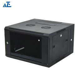 Aze 15u Wall-Mountdouble-откидной поворотный, сервер для установки в стойку сети кабинета с замка стекла двери, 24 дюймов Deep-Rwhe15u24