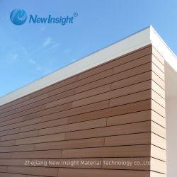 Madeira Maintenance-Free composto de plástico WPC Painel de parede