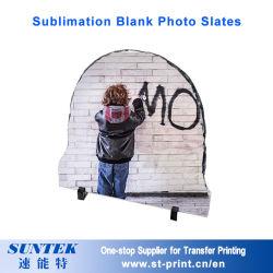 La sublimación de Rock en blanco el marco de fotos Photo Pizarras para Impresión por Transferencia