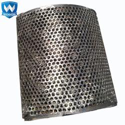 Installer l'usure intérieure Wodon résistant plaque d'usure pour tuyère de godet de la trémie de voiture Skip Bin les tôles de revêtement