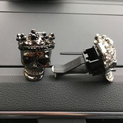 Heißer Metallschädel, Auto-Anschluss, Duftstoff-Klimaanlagen-Zubehör (JSD-A0066)