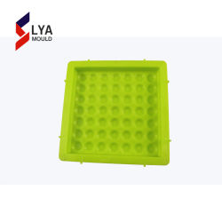 Plastikstraßenbetoniermaschine-Stein-Formen für Kleber-blockierenfußboden-Fliese