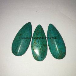 Semi Pedras Preciosas Stablized Natural Pingente Turquesa