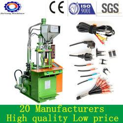 Machines de moulage par injection plastique vertical pour les cordons d'alimentation électrique