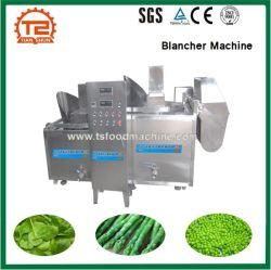 Produtos hortícolas de folha, brócolis, Feijão Blanching Máquina Blancher Cozimento de cozinha