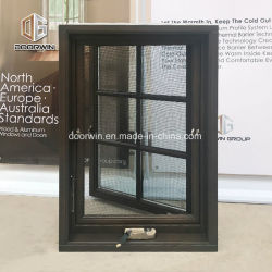 النافذة المفتوحة للخارج الخاصة بتدوير لون الجوز الأسود