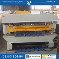 Двойной слой строительного материала механизма принятия решений на заводе новой технологии Double Layer металлической стенки кровельные формирования рулона для продажи