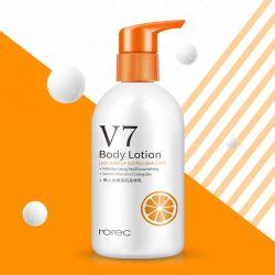V7 el blanqueamiento de hidratante cuidado de piel suave Loción corporal Crema Vitamina esencia