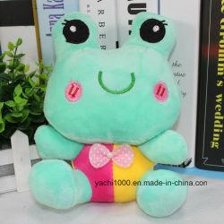 Customized Soft Plush Bonitinha Frog rãs recheadas