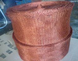 Maglia filtrante a maglia liquida con rivestimento in rame