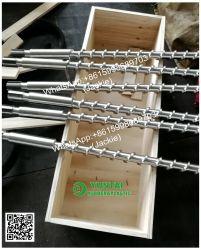 20mm a 220mm nitretação máquina de moldagem por injeção de parafuso e cilindro de borracha