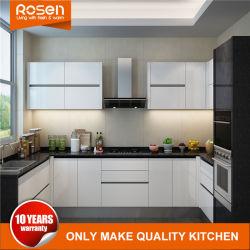 أفضل أثاث لخزائن المطبخ الملونة المطلية باللون الأبيض