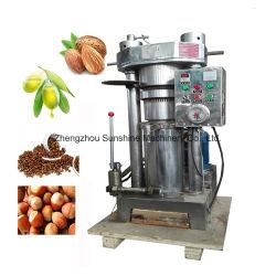 45kg de extracción de cacao calabaza frío Mini prensa de aceite mecánica hidráulica