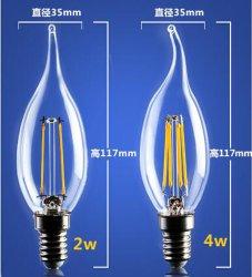 4W 6W C35 E14 LED Filament Lamp_LED_Filament_Bulb_B22_G45_G95_St64_Bulb_Glass_G125