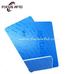 Version imprimable en PVC en plastique personnalisé carte de fidélité de remise en forme RFID sans contact carte prépayée NFC