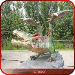 販売の中国のドラゴンの彫像のための現実的なドラゴン