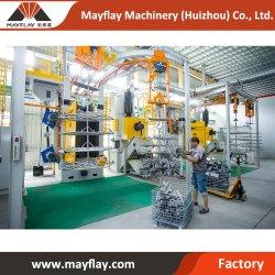 Fournisseurs de machines de nettoyage Mayflay Ventes Crochets double grenaillage Pièces moulées en aluminium de la machine de cuivre avec grenaillage pièces
