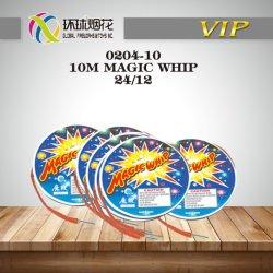0204-10 Le Whip de 10m de la magie d'enfants Aire de jeux Jouets Outdoor pièces pyrotechniques pour consommateurs