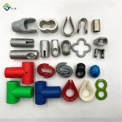 조합 밧줄 그물 사용 알루미늄 부속품을 올라가 플라스틱 아이