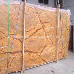 заводская цена тропических лесов тропического леса коричневого цвета золота слоя из зеленого мрамора