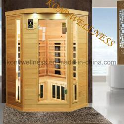 Sauna à infrarouge lointain Cabine pour 2 personne à utiliser avec ce certificat RoHS, ETL, comme du matériel de fitness
