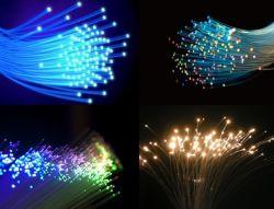 1mm resplandor final PMMA de plástico de fibra óptica para el cielo estrellado Star decoración de la luz de techo