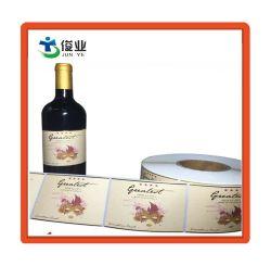 Kundenspezifischer selbstklebender Mattaufkleber für das Wein-Flaschen-Verpacken