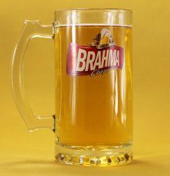 Eco friendly cerveza Premium vajillas copas 450ml de la copa de cristal puede
