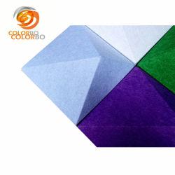 Superfície Diamond-Shaped absorção de som 3D Produto fibra de poliéster.