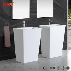 Corianの固体表面の浴室の支えがない洗面器