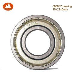 10*22*6mm 6900zz 619006900z zz 61900Z 6900 61900 9300K Ay10 1900s ZZ 2Z de Z C3 C0 C2 Blindage métallique métrique simple rangée radiale Thin-Section Roulement à billes à gorge profonde
