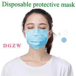 Faible prix de vente en gros 3 plis Masque de protection non tissés jetables Masque de filtre