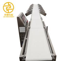 Le tri automatique de l'échelle de poids Le poids de la machine pour transmettre de la courroie de fruits de mer