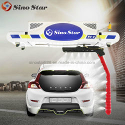 Touchless Auto Washing Touch Free Car Wash Machine Laser Brushless Automatic Car Wash Equipment System mit Wheel Clean Brush M9