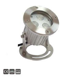 3X3w IP68 24V сталь для акцентного освещения бассейнов