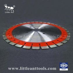 350mm/400mm 다이아몬드 절삭 스톤 툴, 보강 콘크리트 절단용 무소음 톱 블레이드