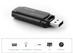 De Super Uiterst kleine Camera van uitstekende kwaliteit U838 MiniDVR van de Schijf van U van de Huid USB van de Videorecorder 1080P Mini Draagbare Video met Batterij (u838)