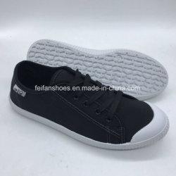 Pattini casuali dei bambini dell'iniezione delle calzature della tela di canapa classica del banco (UP18510-2)