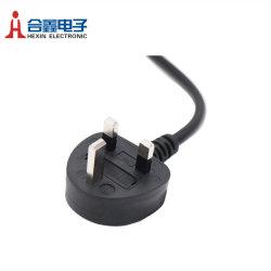 Шнур питания переменного тока UK АСТА 3 полюсов кабель питания переменного тока