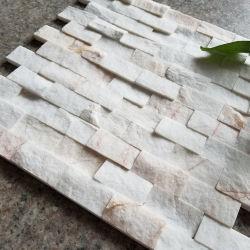 Branco/Preto/Amarelo/Rusty Ledge pedra ardósia pedra de cultura para Villa Piscina decoração de paredes
