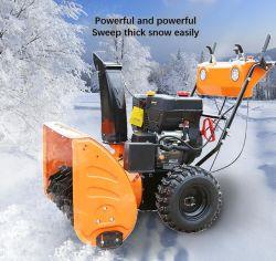 Petite route Gasoline-Powered nettoie efficacement la soufflante à neige Neige 013
